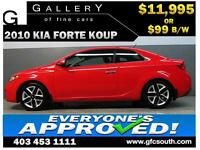 2010 KIA FORTE KOUP SX **EVERYONE APPROVED** $0 DOWN $99/BW!