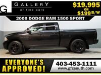 2009 DODGE RAM SPORT CREW **EVERYONE APPROVED** $0 DOWN $199/BW!