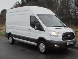 FORD TRANSIT LWB HIGH ROOF T350 L3H3 125 TREND 2015(65), LOW RATE FINANCE?