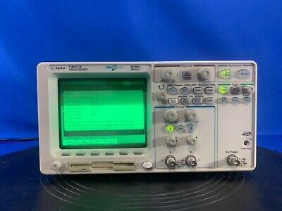 Agilent-hp 54621a Digital Oscilloscope 60mhz 2 Channel