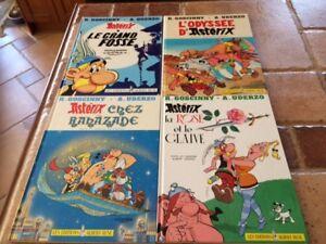 4 livres Astérix