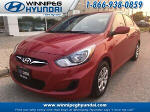 2012 Hyundai Accent 4Dr L 6sp Manual Low Km's