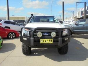 2013 Ford Ranger PX XL White 6 Speed Manual 4D Utility