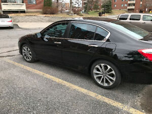2014 Honda Accord Sport Sedan Black (new tires+brakes)