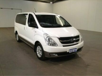 2013 Hyundai iMAX TQ MY13 White 4 Speed Automatic Wagon