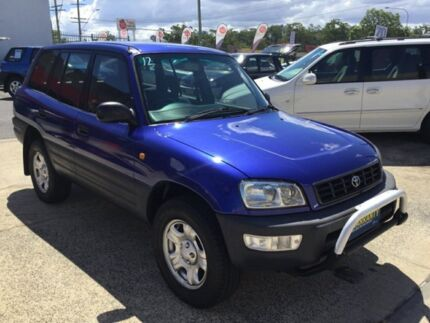 1999 Toyota RAV4 Manual Purple 5 Speed Manual Wagon Underwood Logan Area Preview