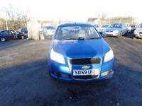 2009(59) Chevrolet Aveo 1,2 3 door Hatch £1095