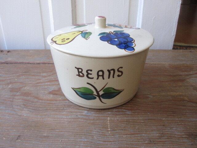 Purinton Pottery Esmond Bean Pot Apple