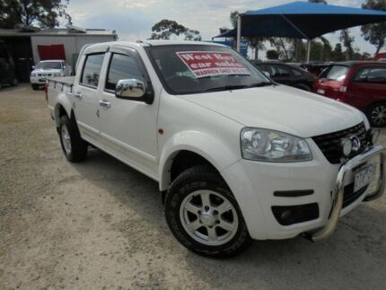 2013 Great Wall V240 White Manual Utility