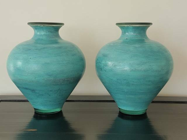 Large Hand Painted Glass Vases Vases Bowls Gumtree Australia Leichhardt Area Lilyfield 1246227462