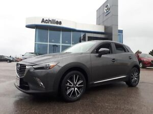 2018 Mazda CX-3 {DEMO] GT-AWD, Leather, Moonro
