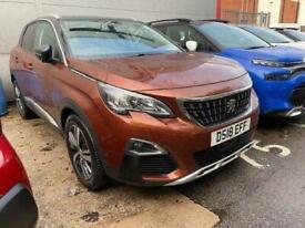 image for 2018 Peugeot 3008 SUV 1.2 PureTech Allure (s/s) 5dr SUV Petrol Manual