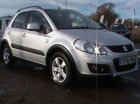 SUZUKI SX4 2.0 DDIS 4 W DRIVE 1 OWNER FSH CLICK ONTO VIDEO LINK TO SEE CAR IN GREATER DETAIL