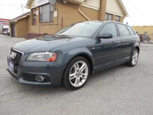 2011 AUDI A3 2.0T S-Line Quattro Wagon Panoramic Roof ONLY 114Km