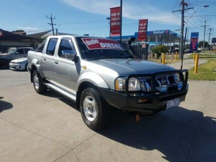 2004 Nissan Navara D22 ST-R (4x4) 5 Speed Manual Dual Cab Pickup Deer Park Brimbank Area Preview