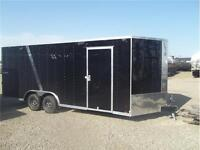7' TALL BLACK LOOK V NOSE CARHAULER $8999.00