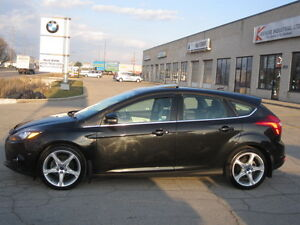 IMMACULATE !!! ONE OWNER !!! 2012 FORD FOCUS TITANIUM