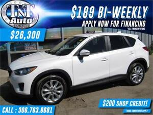 2015 Mazda CX-5 Grand Touring AWD-LEATHER-SUNROOF-BACK UP CAMERA