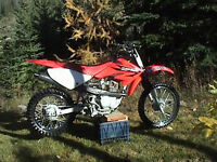 Honda CRF 80. Runs perfectly. Excellent condition