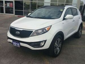 2016 Kia Sportage EX Luxury AWD with NAVI