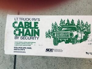 Light Truck & RV Cable Chain