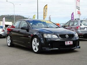 2010 Holden Commodore VE MY10 SV6 Black 6 Speed Sports Automatic Sedan Garbutt Townsville City Preview