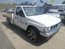 1992 Holden Rodeo TFG1 DLX White 5 Speed Manual Utility Maidstone Maribyrnong Area Preview