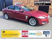2013 Jaguar XF 2.2 TD Premium Luxury 4dr (start/stop) Diesel red Automatic