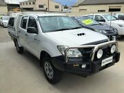 2011 Toyota Hilux KUN26R MY11 Upgrade SR (4x4) White 4 Speed Automatic Dual Cab Pick-up Peakhurst Hurstville Area Preview