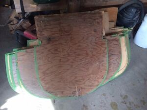 boat building forms for canoes and drift boat