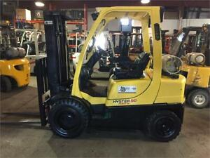 2010 Hyster 5000lb pneumatic tire forklift