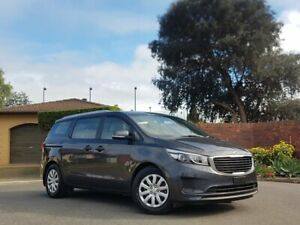 2017 Kia Carnival YP MY17 S Grey 6 Speed Sports Automatic Wagon Medindie Walkerville Area Preview