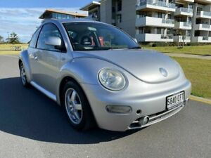 2002 Volkswagen Beetle 9C MY2002.5 Coupe Silver 5 Speed Manual Liftback Somerton Park Holdfast Bay Preview