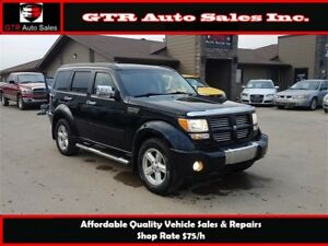 2008 Dodge Nitro R/T 4x4 *4.0L ENGINE, NEVER IN AN ACCIDENT*