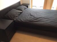 Ikea Malm- Double Bed Frame