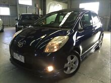 2007 Toyota Yaris NCP91R 06 Upgrade YRX 5 Speed Manual Hatchback Brooklyn Brimbank Area Preview