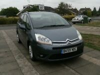 2009 CITROEN C4 PICASSO 1.6 HDI AUTOMATIC GREY 7 SEATER 12 MONTH M.O.T.