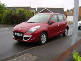 2010 RENAULT SCENIC DYNAMIQUE 1.5 DCI TOMTOM **44800 MILES**