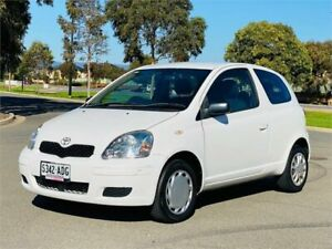 2005 Toyota Echo NCP10R MY03 White 4 Speed Automatic Hatchback Mawson Lakes Salisbury Area Preview