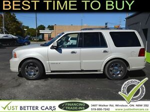 2006 Lincoln Navigator 4WD Luxury with SUNROOF, LEATHER, LOADED