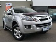 2014 Isuzu D-MAX MY15 LS-U Crew Cab 4x2 High Ride Silver 5 Speed Sports Automatic Utility Fawkner Moreland Area Preview