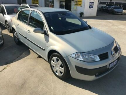 2005 Renault Megane II L84 Expression Silver 4 Speed Automatic Sedan St James Victoria Park Area Preview
