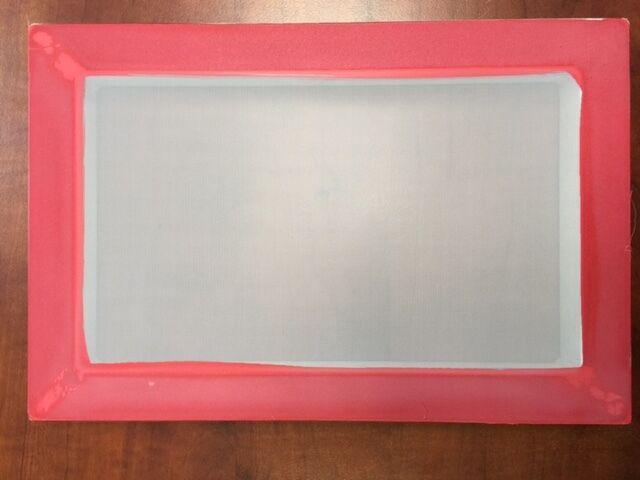 "8"" x 12""Aluminum Screen Printing Screens With 110 mesh count"