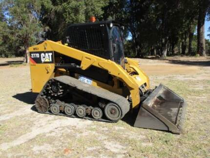 SKIDSTEER CAT 277D TRACK MACHINE 2013