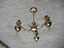 copper art ceiling light $8 Albion Brisbane North East Preview