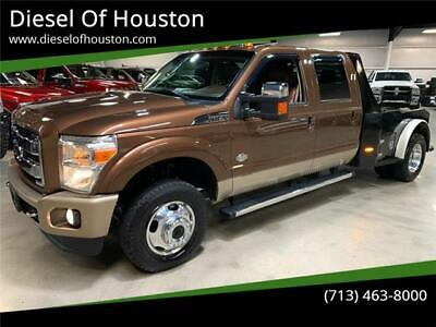 2012 Ford F-350 King Ranch 4x4 6.7L Powerstroke Sunroof 2012 Ford F-350 Super Duty King Ranch 4x4 6.7L Powerstroke Sunroof 152282 Miles