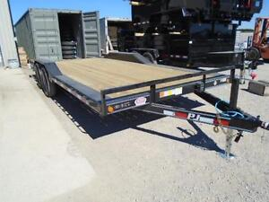 PJ BUGGY HAULER - 5 TON 7 X 20' BED -YOUR LOWEST CANADIAN PRICE London Ontario image 2