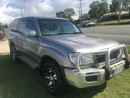 2001 Toyota Landcruiser HZJ105R GXL Silver Manual Wagon Clontarf Redcliffe Area Preview