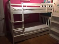 Aspace bunk beds with trundle for third bed underneath