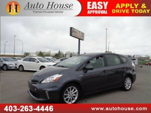 2014 Toyota Prius v Hybrid Leather Sunroof Bluetooth B.Camera